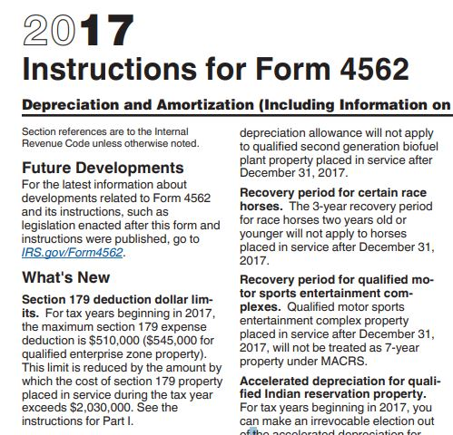 2017 section 179